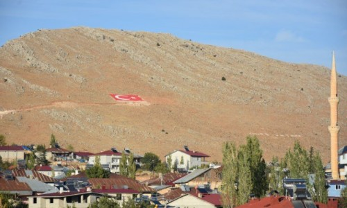 Çal Dağı Türk Bayrağı