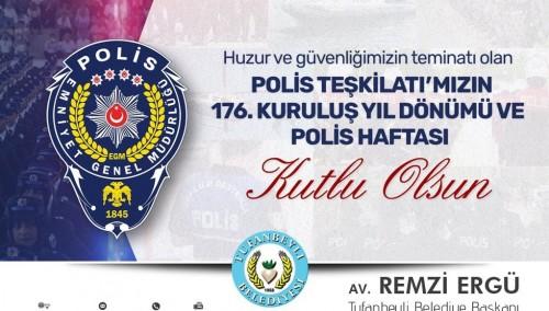 POLİS HAFTASI KUTLU OLSUN